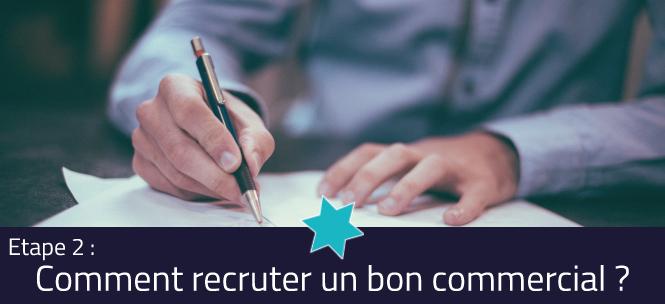 Visuel - Comment recruter un bon commercial - Définir un profil de poste