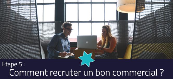 Visuel - Comment recruter un bon commercial : la conduite de l'entretien de recrutement - L'intégration d'un nouveau collaborateur - Etape 5